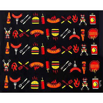 Doortex Rectangular Fire Retardant BBQ Mat - Cook  (39