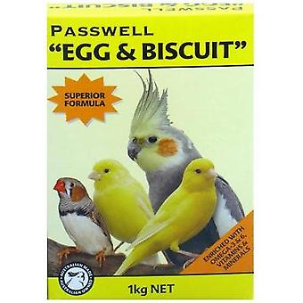 Passwell Egg & Biscuit (Can.fin.coc) 1kg