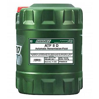 Fanfaro ATF DII Dexron 2 Transmission automatique et alimentation assistée Huile de fluide 20 L