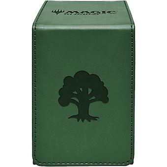 MTG Ultra Pro Magic The Gathering Forest Alcove Flip Box - Vert