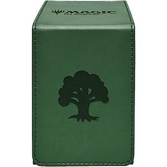 MTG Ultra Pro Magic The Gathering Forest Alcove Flip Box - Groen