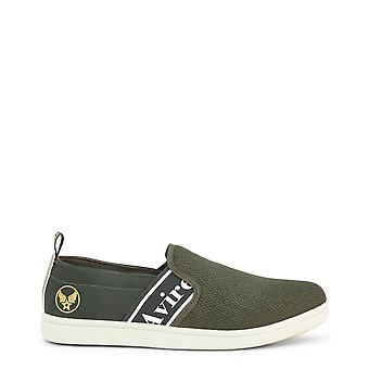 Avirex men's synthetic leather low top slip on
