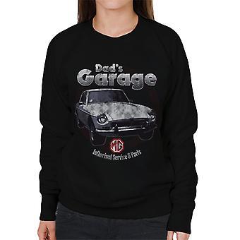 MG Dads Garage British Motor Heritage Naiset's Collegepaita