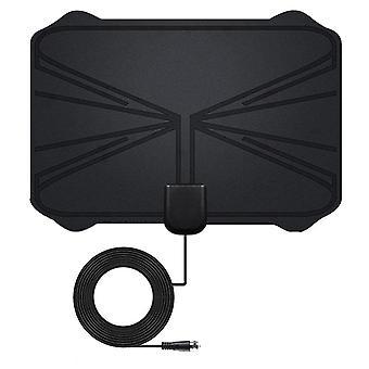 4k Digitálne HDTV anténa vnútorné zosilnené antény, 1180 míľ rozsah HD1080p Dvbt2