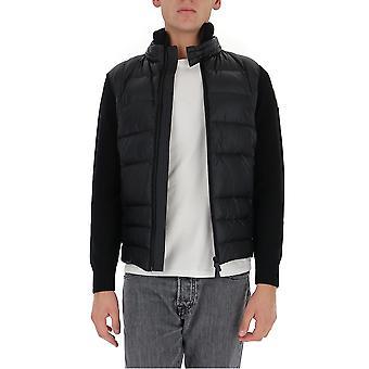 Moncler Grenoble 9b50594778999 Men's Black Nylon Down Jacket
