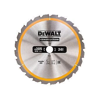 DEWALT Construction Circular Saw Blade 305 x 30mm x 24T DEWDT1958QZ