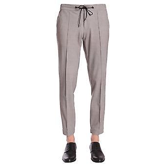 Traiano Tp07ts01tk03 Men's Grey Nylon Pants