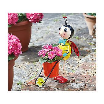 Smart Solar Bee Bug Pot Pet Planter 5030348