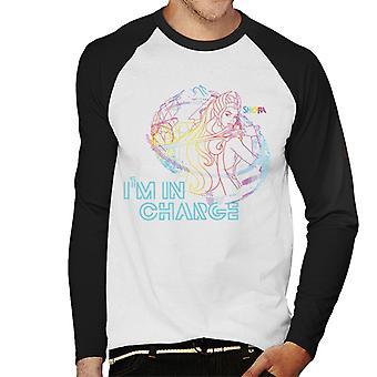 She-Ra Im In Charge Men's Baseball Long Sleeved T-Shirt