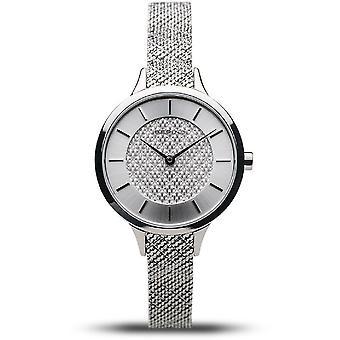 Bering naisten kello Classic hopea kiiltävä 17831-000