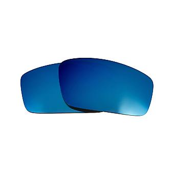 Replacement Lenses for Oakley Square Wire 2006 Sunglasses Anti-Scratch Blue