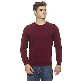 Conte of Florence Bordeaux Sweater