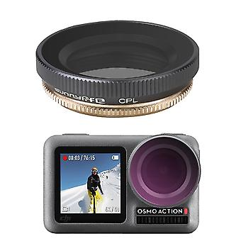 Sunnylife OA-FI173 CPL Adjustable Lens Filter for DJI OSMO ACTION