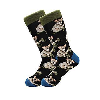 Sick Socks Exotic Animals Casual Dress Socks