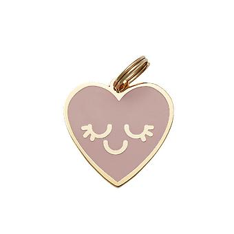 Pet Id Tag - Smiling Heart