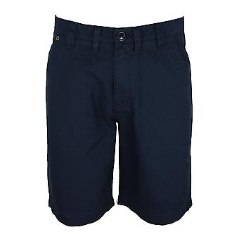Barbour international men's navy patch pocket shorts