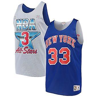 Mitchell & Ness Reversible New York Knicks Patrick Ewing Tank Top ASGRYWH1