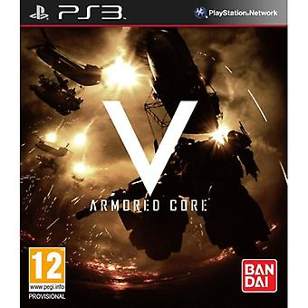 Armored Core V 5 Game PS3
