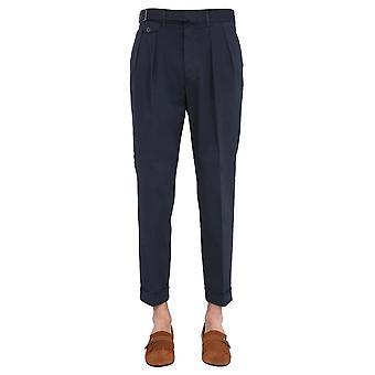 Lardini Elluxor5w850c Men's Blue Cotton Pants