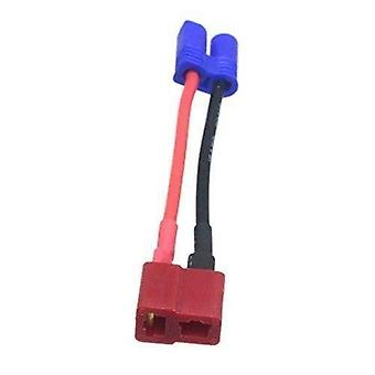 Ec2 male banana connector for female plug t adapter for rc lipo 16awg 10 cm battery