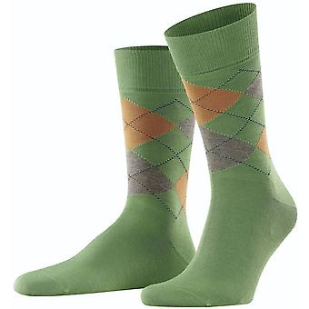 Burlington Manchester Socks - Olive Green