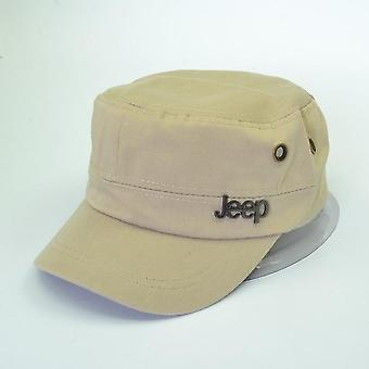 Fashion Flat Roof Military Hats, Casual Sun Shade Army Caps