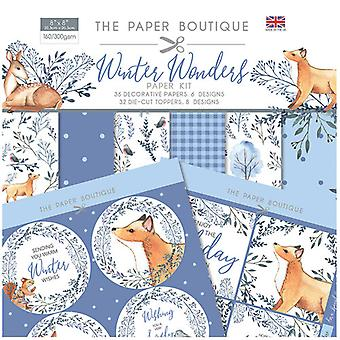The Paper Boutique - Winter Wonders Collection - Paper Kit