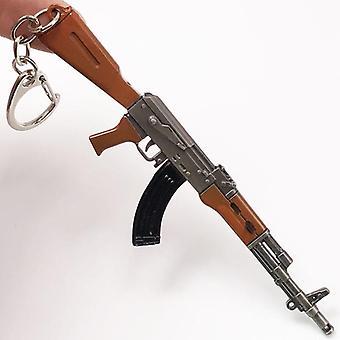 Weapon Rifle Model Ak 47 Gun, Keychains