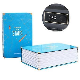 18 x 11.5x5.5cm Kombination Stellschloss Hidden-safe Box / Strongbox Stahl SimulationBuch