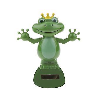 Solar Power Dancing Frog, Doll, Car Interior Ornament, Home Decoration,