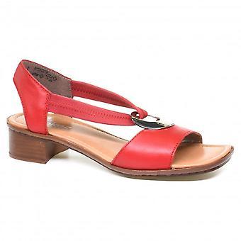 Eleganti sandali Rosso