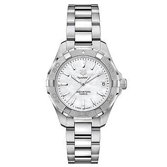 Tag Heuer Women's Aquaracer Mother of Pearl Dial Watch - WBD1311.BA0740