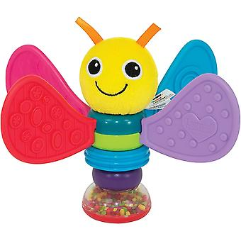 Lamaze Freddie the Firefly Baby Rattle for Newborn Babies, Rattle Toy for Sensory Play, Ideal Baby