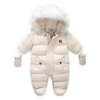 Baby Clothes Warm Down Jacket Coat Jumpsuit Snowsuit