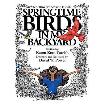 Springtime Birds in My Backyard by Karen Kern Yarrish - 9781640427006