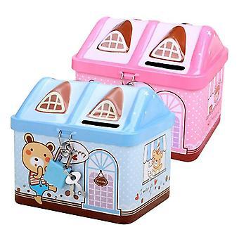 Сохранение Box Piggy Банк Дом
