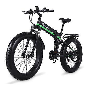 Shengmilo MX01 دراجة كهربائية قابلة للطي - على الطرق الوعرة الذكية E الدراجة - 500W - 12.8 آه البطارية - الأخضر