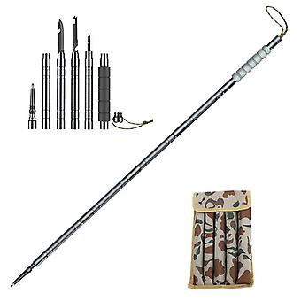 Trekking Pole Walking Multifunktionales Falten Ultraleicht Quick Lock Outdoor