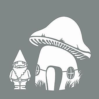 Decoart Stencil - Gnomes Pack av 2