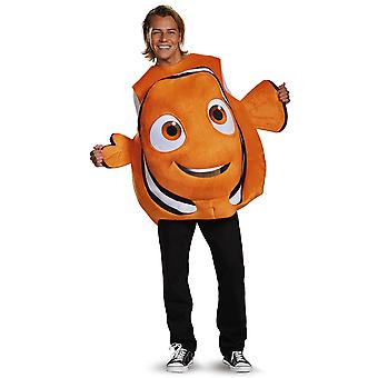 Nemo 3D Deluxe Disney Pixar Encontrando Nemo Fish Adult Womens Mens Costume
