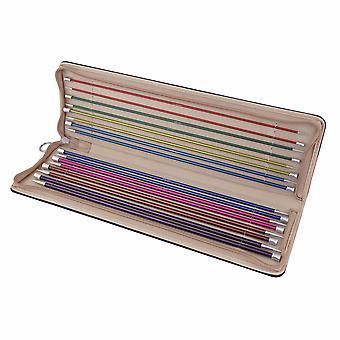 KnitPro Zing: Stricknadeln: Single-Ended: Set: 35cm