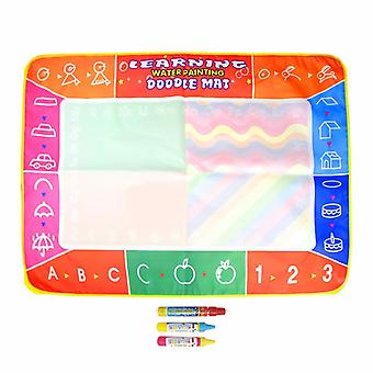 Magic doodle mat educational kids water drawing toys gift kt-7