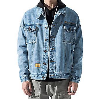 מעיל ג'קט ג'ינס לגברים YANGFAN