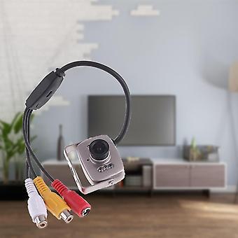Miniturvallinen kamera värilinssillä