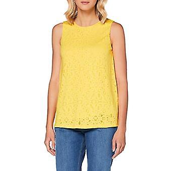 ESPRIT Collection 050EO1K314 T-Shirt, 750/yellow, XXL Women