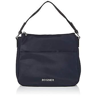Bogner BOGNERKlosters Isalie Hobo MvzDonna Shoulder BagBlu (Dark Blue) 13x28x31 centimeters (W x H x L)