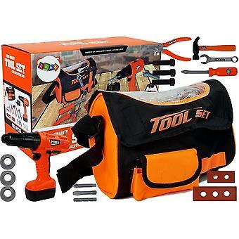 Kinderspielzeug Werkzeugset - mit Aufbewahrungstasche