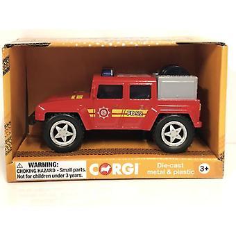 Corgi CHUNKIES CH006 Off Road Fire Engine U.K.Diecast and Plastic Toy