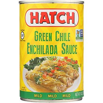 Hatch Sauce Enchlda Grn Mild, Case of 12 X 15 Oz
