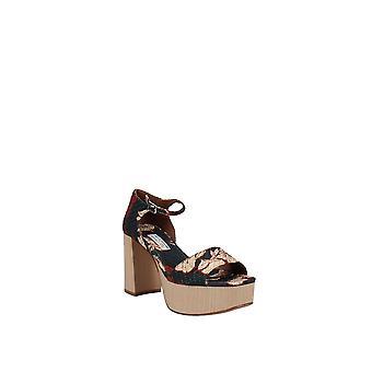 Tabitha Simmons   Patton Floral Print Platform Sandals